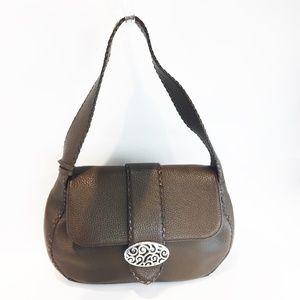 Brighton shoulder Bag Brown Leather